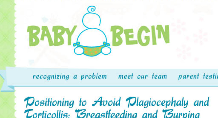 Positioning to Avoid Plagiocephaly and Torticollis: Breastfeeding and Burping